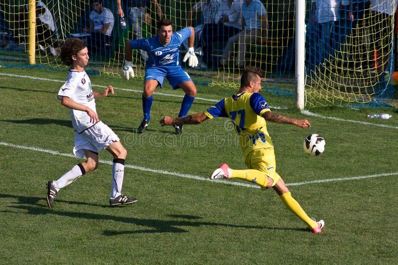 Chievo Verona italienisches Fußball-Team stockfotos