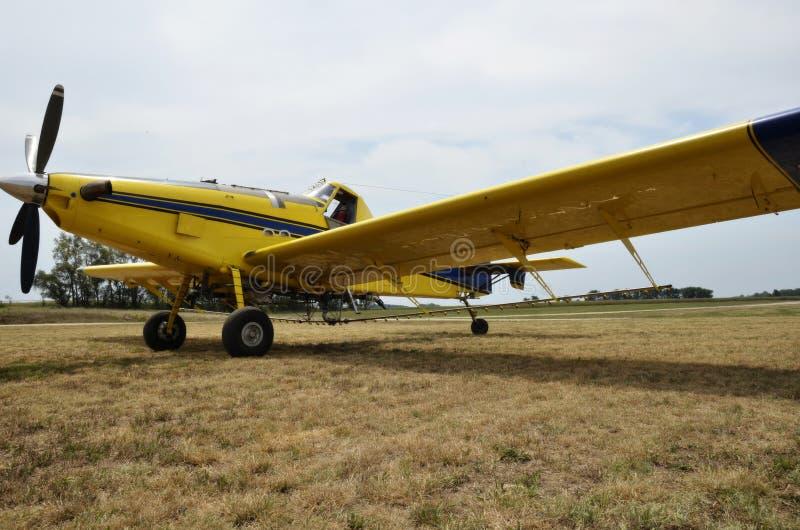 Chiffon de collecte d'avion image libre de droits