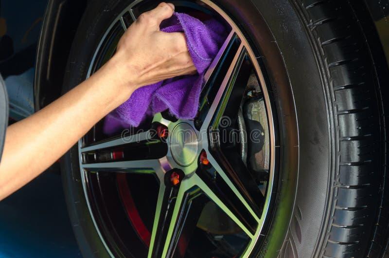 Chiffons de pneu photographie stock