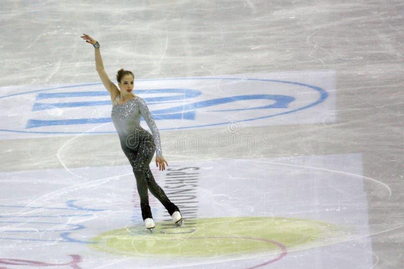 Chiffre championnats du monde d'ISU de patinage photos stock