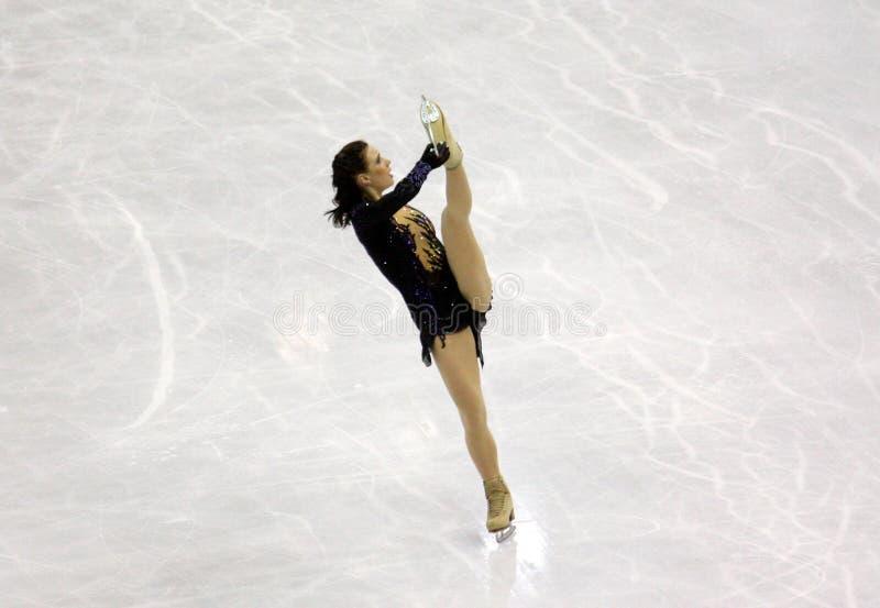 Chiffre championnats du monde d'ISU de patinage photo libre de droits