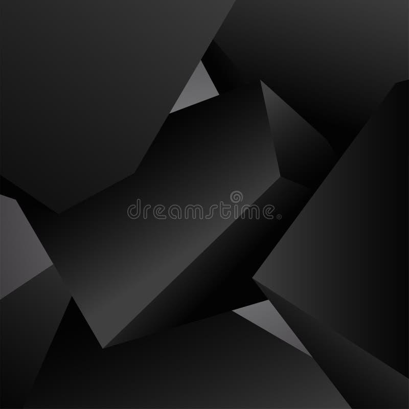 Chiffre d'étoile blanc Fond moderne de vecteur illustration de vecteur