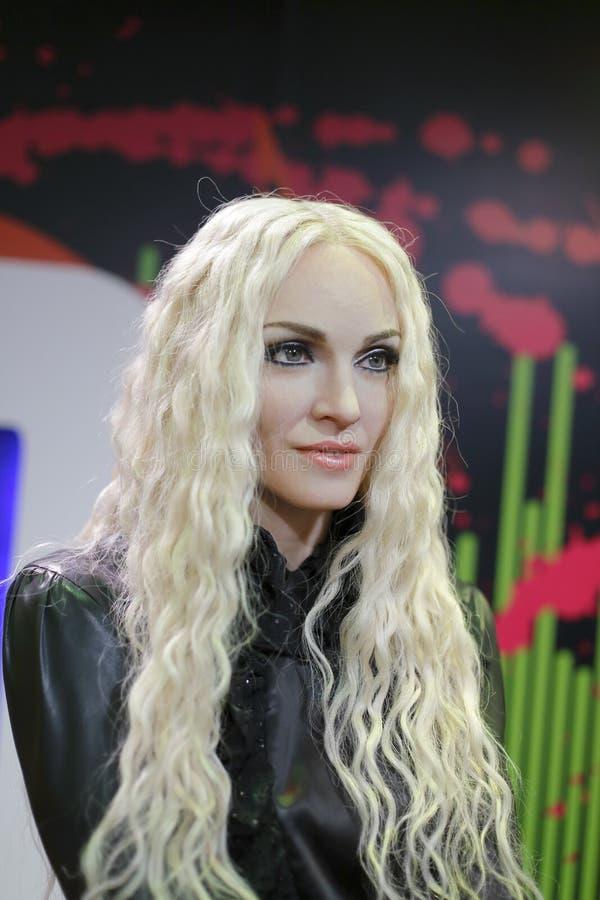 Chiffre de cire de ciccone de Madonna image libre de droits