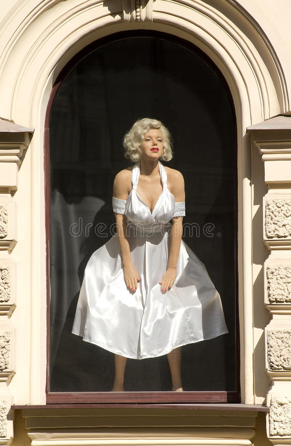 Chiffre de cire de Marilyn Monroe image libre de droits