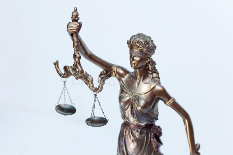 Chiffre de justice de Madame photographie stock libre de droits