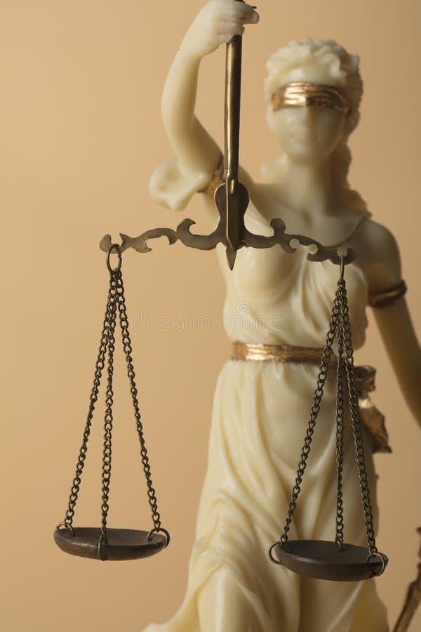 Chiffre de Justizia images libres de droits