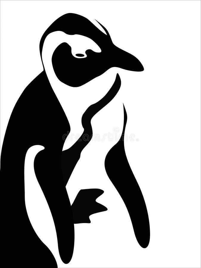 Chiffre de pingouin de vecteur illustration stock