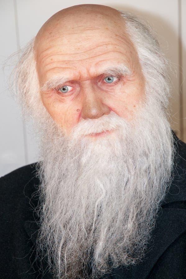 Charles Darwin image libre de droits