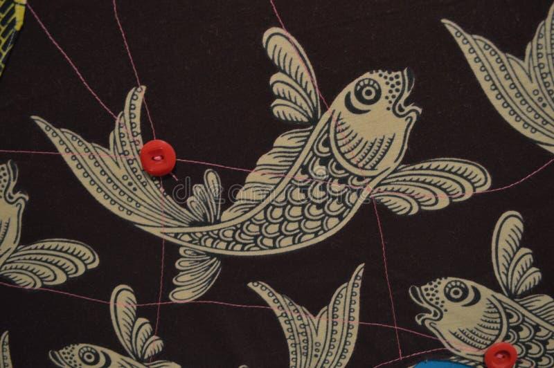 Chiffre stylisé de poissons photographie stock libre de droits