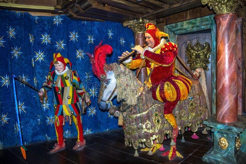 Chiffres de cire de lowns de ¡ de Ð au musée de Madame Tussauds à Londres photo stock