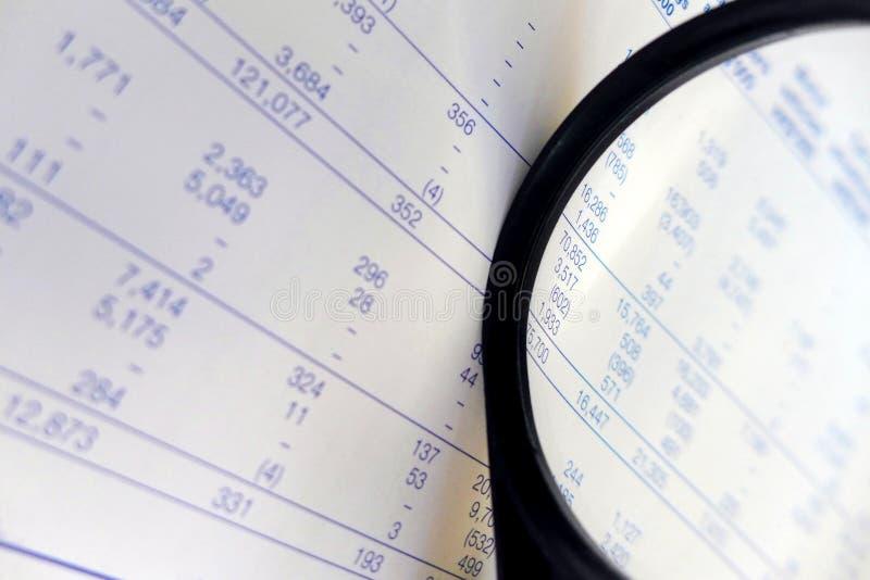 Chiffres de finances, étudiant photo stock