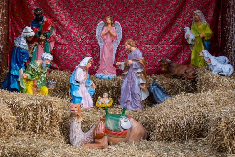 Chiffres de huche de Noël photographie stock libre de droits