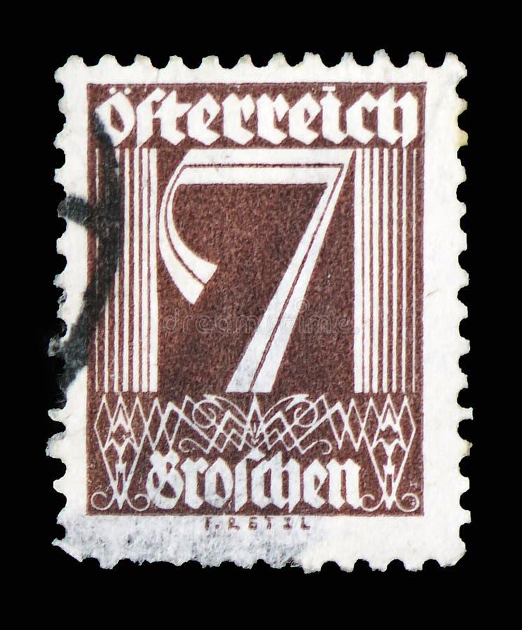Chiffres, figures serie, vers 1925 photos stock