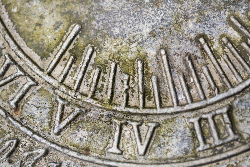 Chiffres romains photographie stock libre de droits