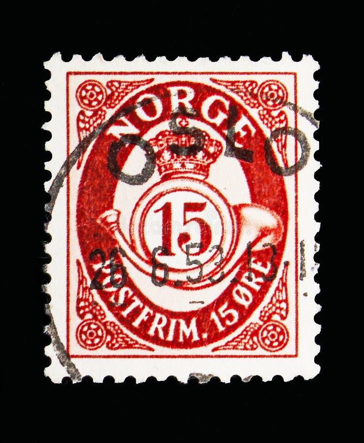 Chifre de cargo, serie, cerca de 1910 imagens de stock royalty free