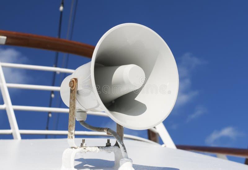 Chifre do barco foto de stock royalty free