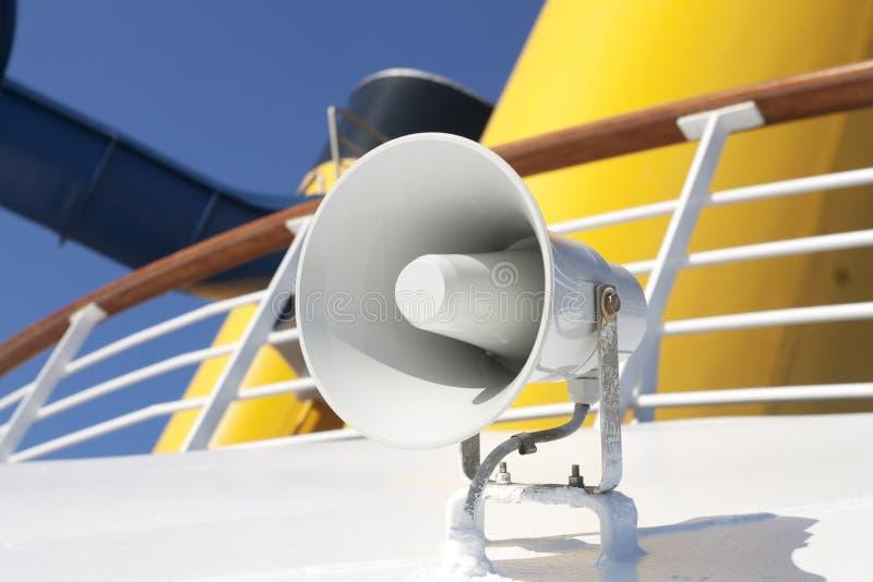 Chifre do barco fotografia de stock royalty free