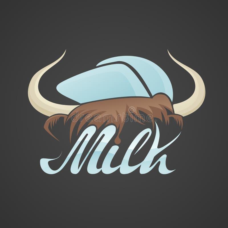 Chifres de Bull com tampão foto de stock