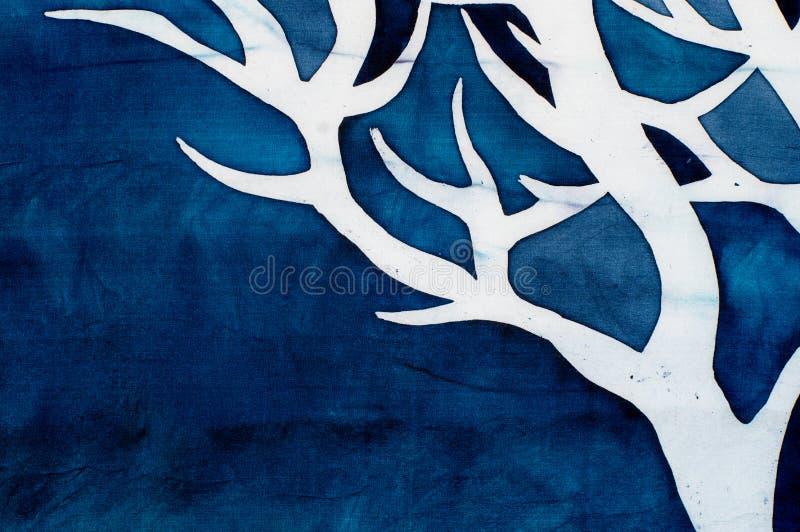 Chifres dos cervos, árvore místico, turquesa ilustração stock