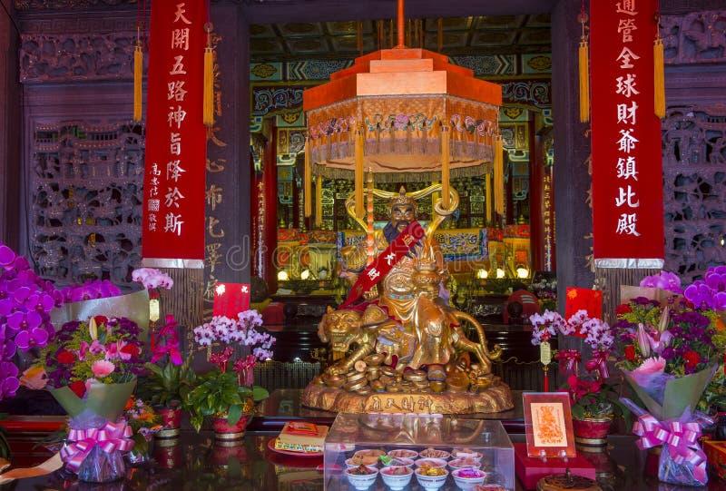 Chih Nan świątynia w Taipei obraz royalty free