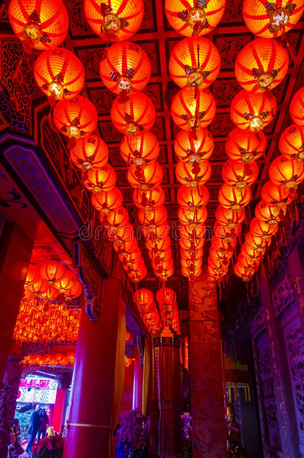 Chih Nan świątynia w Taipei obrazy stock