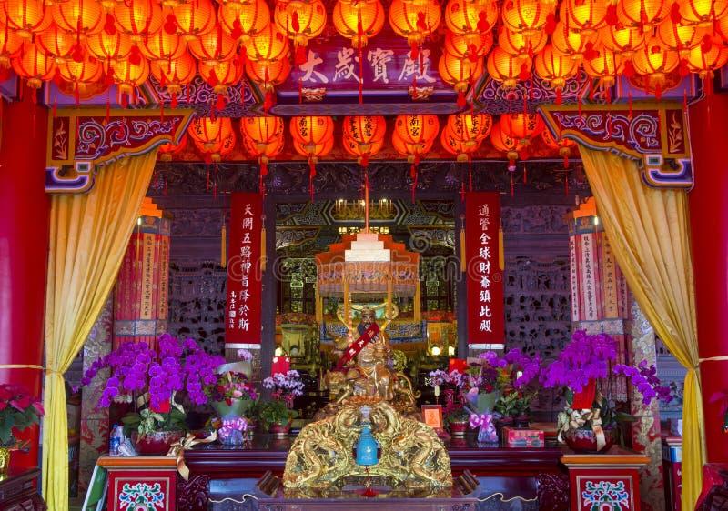 Chih Nan świątynia w Taipei fotografia royalty free