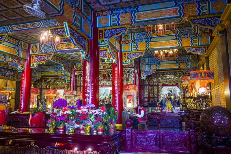 Chih Nan świątynia w Taipei zdjęcie stock