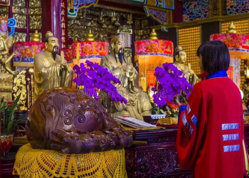 Chih Nan świątynia w Taipei zdjęcia stock