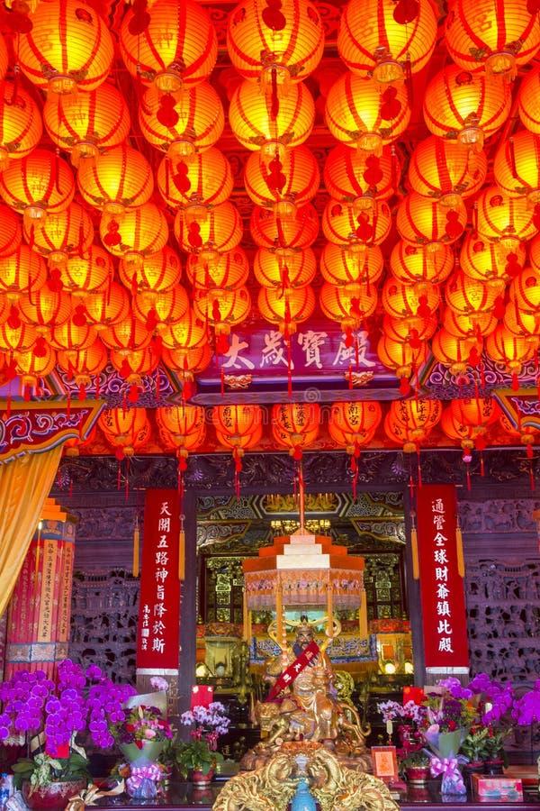 Chih Nan Temple à Taïpeh photos stock