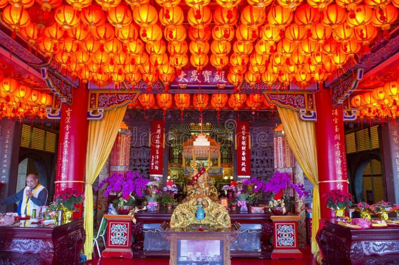 Chih Nan Temple à Taïpeh image libre de droits