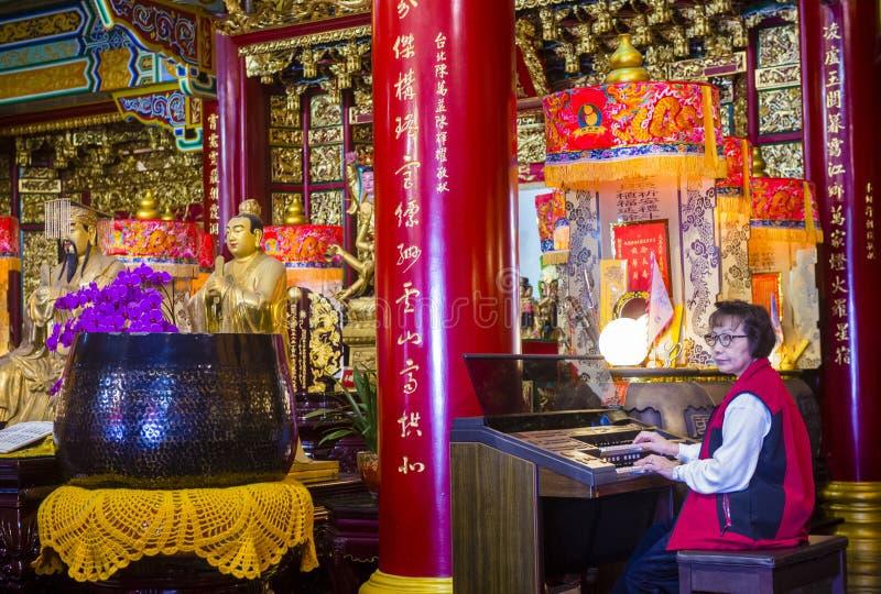 Chih Nan Temple i Taipei fotografering för bildbyråer