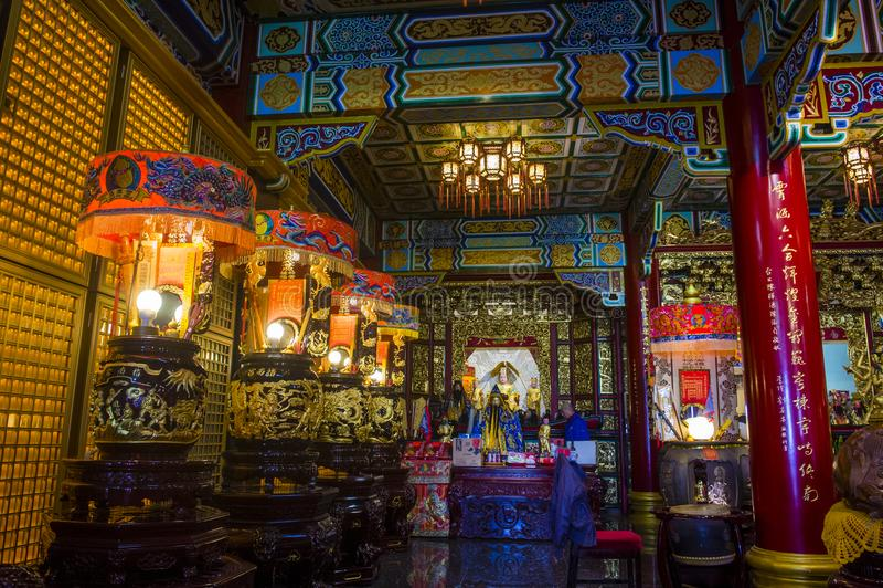 Chih Nan Temple i Taipei royaltyfria foton