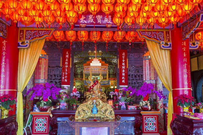 Chih Nan Temple in Taipeh royalty-vrije stock afbeelding