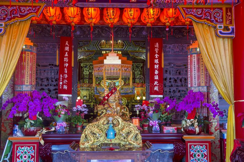 Chih Nan Temple in Taipeh stockfotos