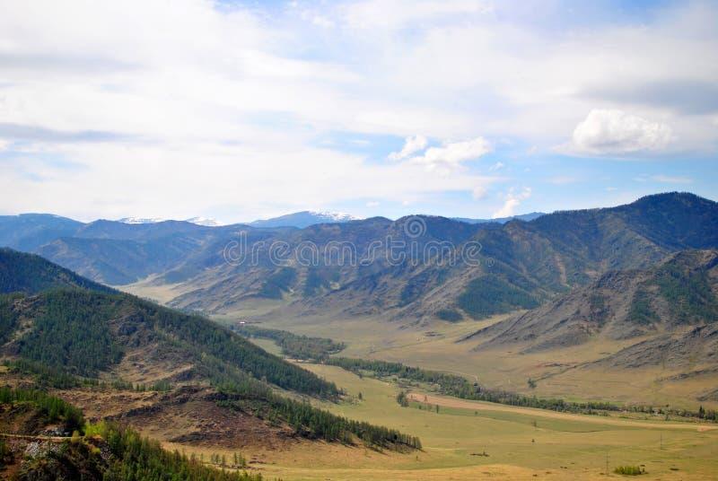 Chike-Taman dans les montagnes d'Altai photo stock