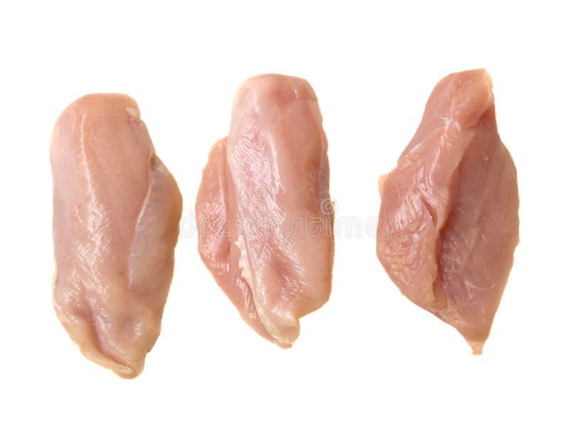 chiken原始的肉 库存图片