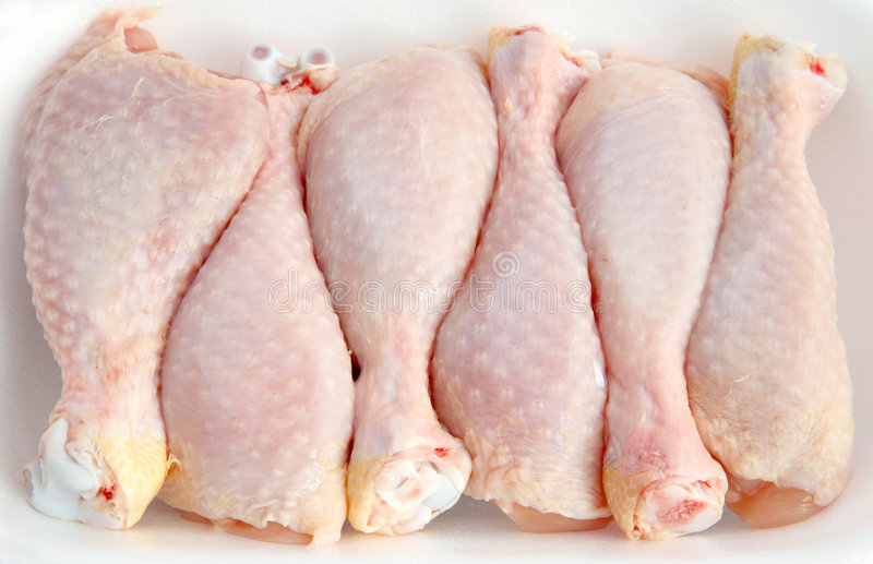 Chiken joints royalty free stock photography