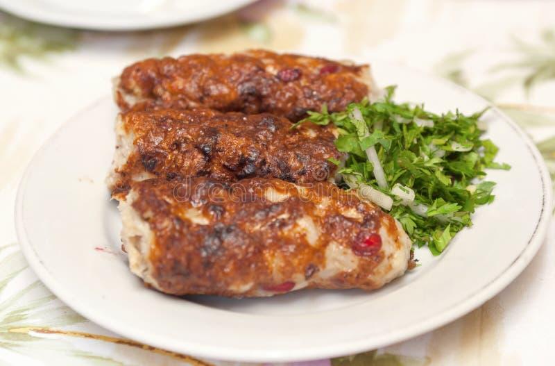 chiken kebab lulya obraz royalty free