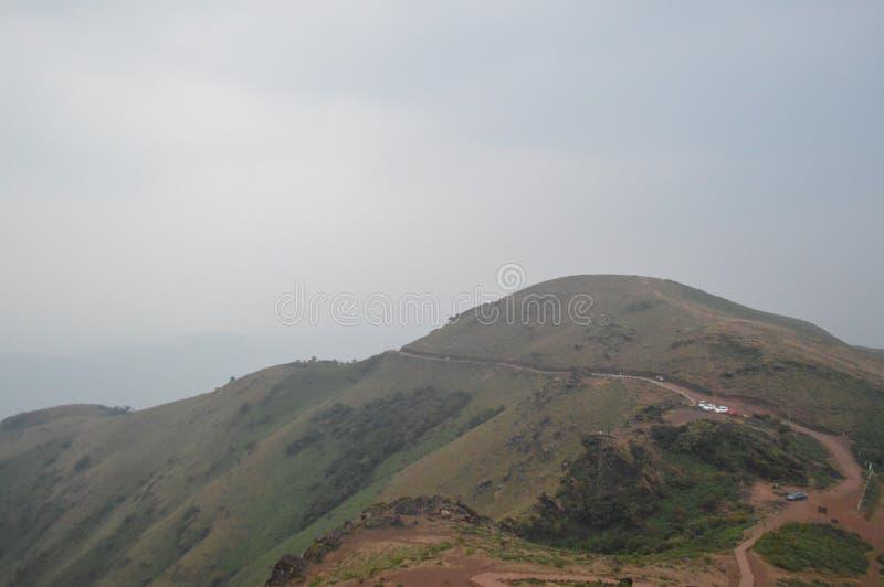 Chikmagalur, estação do monte em Karnataka foto de stock royalty free
