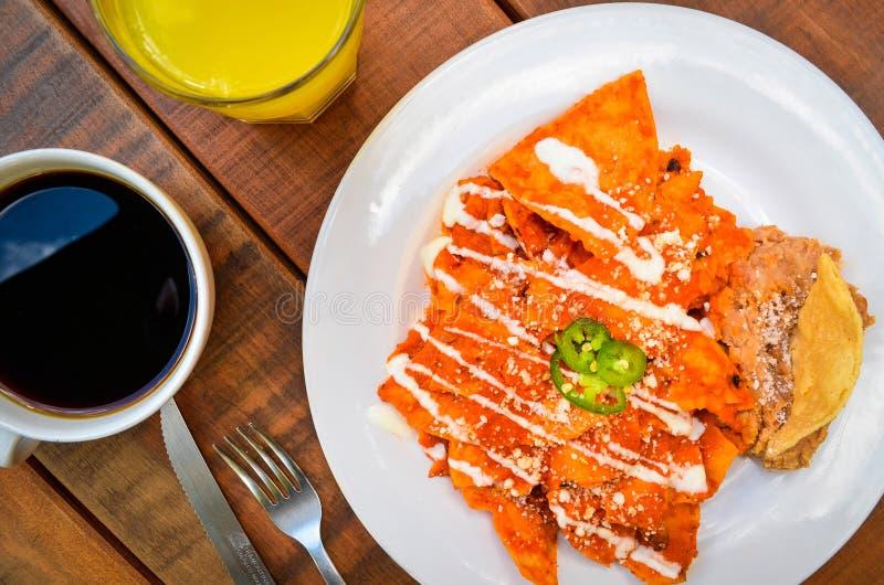 Chilaquiles стоковое фото