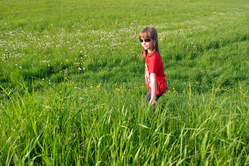 Download Child stock image. Image of healthy, glasses, grass, person - 19951641