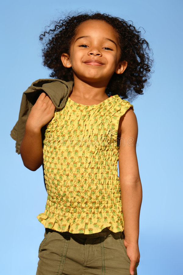 Download Child stock photo. Image of park, afro, fashion, eyes - 3249302