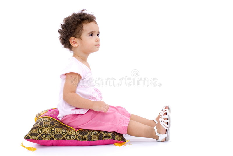 Download Child stock photo. Image of emotion, sitting, expression - 7623316