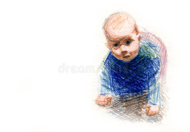 Download Child stock illustration. Image of clarity, cute, good - 9027578