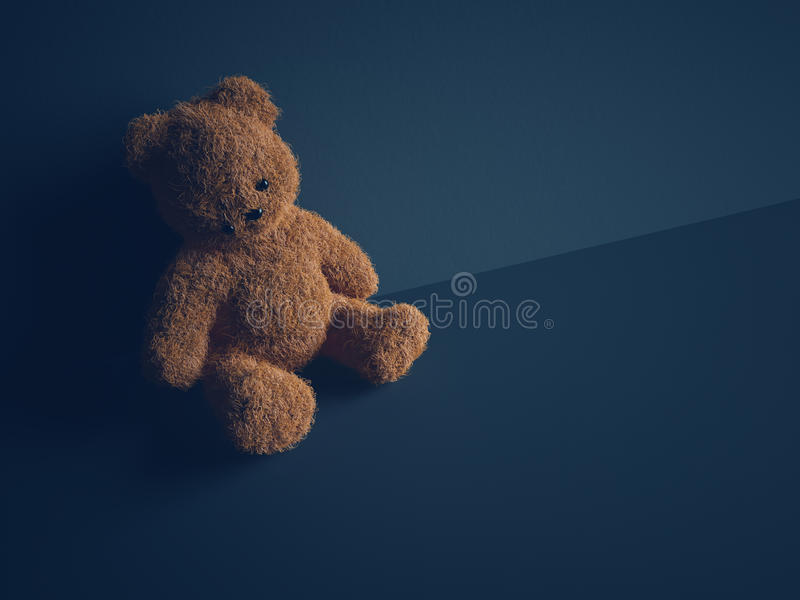 Child abuse concept stock photography
