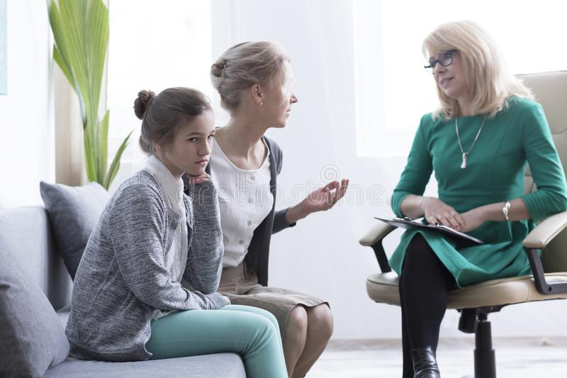 Child And Adolescent Mental Health Stock Image
