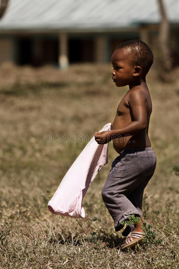 Child of africa royalty free stock photos