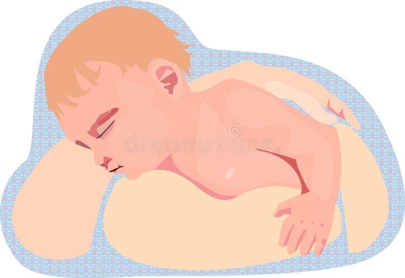 Download Child In The Arms Of Mother Stock Vector - Image: 27517343