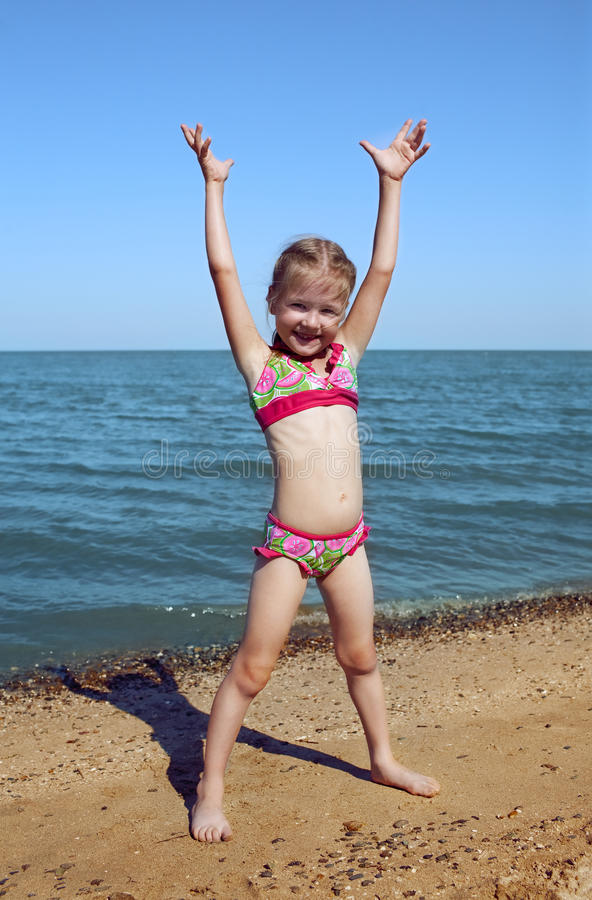 Free Child At The Sea Stock Image - 21232081