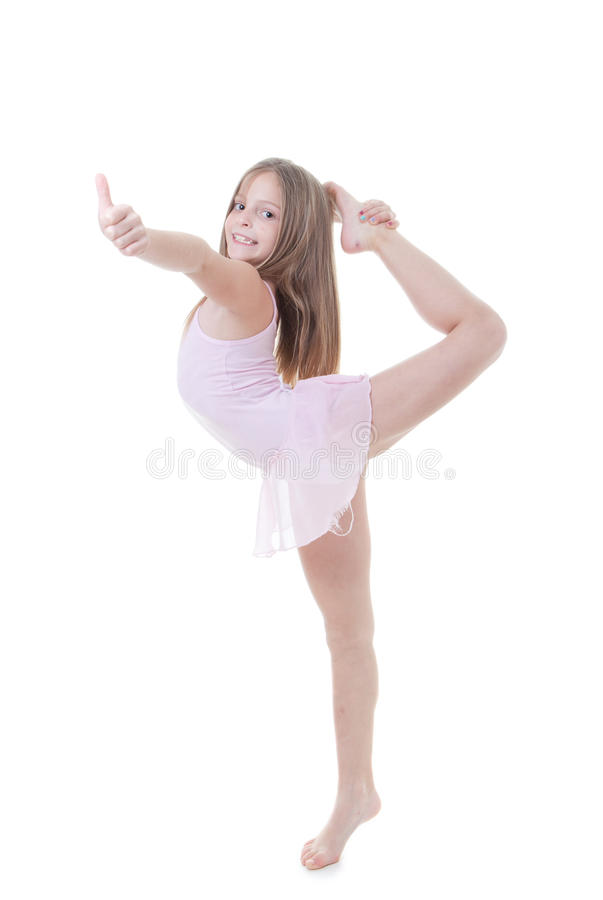 Child Balance Royalty Free Stock Photography